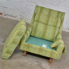 Bernhardt Furniture Company Vintage mid century modern high back lounge chair by flair division of bernhardt - 1668995