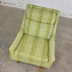 Bernhardt Furniture Company Vintage mid century modern high back lounge chair by flair division of bernhardt - 1668998