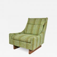 Bernhardt Furniture Company Vintage mid century modern high back lounge chair by flair division of bernhardt - 1671022