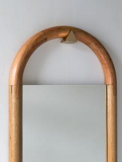 Birnam Wood Studio Halo Mirror Wall Mounted Birnam Wood Studio in Cherry and Curly Maple - 1088708