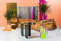 Birnam Wood Studio Playful Geometric Side Table by Birnam Wood Studio and Suna Bonometti - 1089112