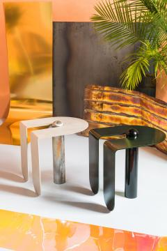 Birnam Wood Studio Playful Geometric Side Table by Birnam Wood Studio and Suna Bonometti - 1089115