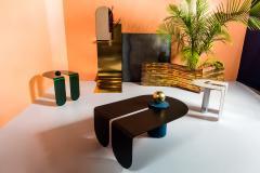 Birnam Wood Studio Playful Geometric Side Table by Birnam Wood Studio and Suna Bonometti - 1089116