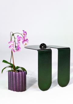 Birnam Wood Studio Playful Geometric Side Table by Birnam Wood Studio and Suna Bonometti - 1102443