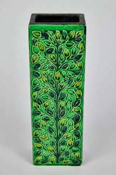 Bitossi 1960s Bitossi Rectangular Vase by Aldo Londi with Signature - 1687260