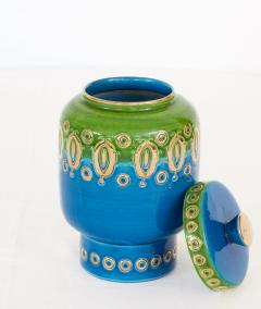 Bitossi 1960s Ceramic Jar with Lid by Bitossi for Rosenthal Netter Made in Italy - 1854593