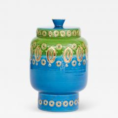 Bitossi 1960s Ceramic Jar with Lid by Bitossi for Rosenthal Netter Made in Italy - 1864124