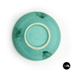 Bitossi Aquamarine ceramic centerpiece by Ceramiche Bitossi 1980s - 2015911