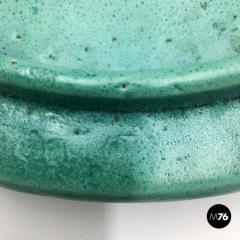 Bitossi Aquamarine ceramic centerpiece by Ceramiche Bitossi 1980s - 2015913