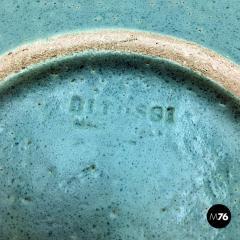Bitossi Aquamarine ceramic centerpiece by Ceramiche Bitossi 1980s - 2015916