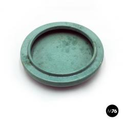 Bitossi Aquamarine ceramic centerpiece by Ceramiche Bitossi 1980s - 2015929