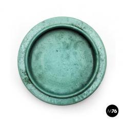 Bitossi Aquamarine ceramic centerpiece by Ceramiche Bitossi 1980s - 2015931