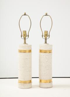 Bitossi Bitossi BirchTree 22kt Gold Band Glazed Lamps - 2079035