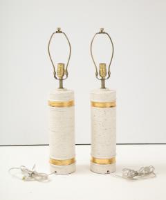 Bitossi Bitossi BirchTree 22kt Gold Band Glazed Lamps - 2079037