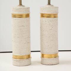Bitossi Bitossi BirchTree 22kt Gold Band Glazed Lamps - 2079038
