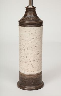 Bitossi Bitossi Brown Birch Tree Glazed Ceramic Lamps - 1035180