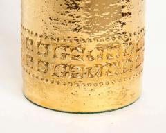 Bitossi Bitossi Incised 22 Karat Gold Glazed Lamps - 1900547