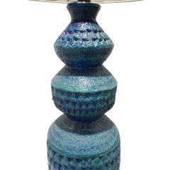 Bitossi Bitossi Large Textural Studio Made Ceramic Table Lamp 1950s - 540507