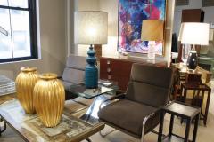 Bitossi Bitossi Large Textural Studio Made Ceramic Table Lamp 1950s - 540509
