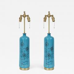 Bitossi Bitossi cerulean Blue Ceramic Lamps - 843710