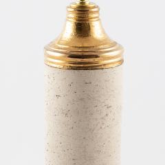 Bitossi Bitossi gold Birch table lamp for Bergboms circa 1960s - 1053410