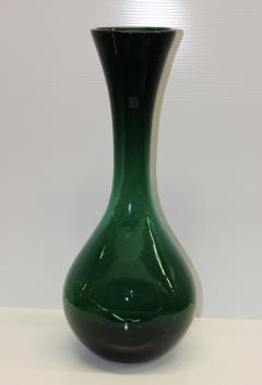 Blenko Glass Co Large Green Glass Vase By Blenko - 767842