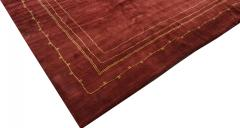 Boccara BOCCARA EXCLUSIVE MONOCHROME WOOL RUG BORDEAUX - 1063028