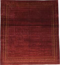 Boccara BOCCARA EXCLUSIVE MONOCHROME WOOL RUG BORDEAUX - 1063092