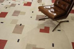 Boccara Boccara Hand Knotted Limited Edition Artistic Rug Design N 11 100 Natural Sil - 1041237