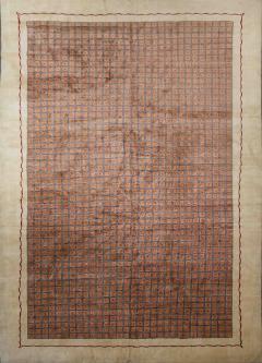 Boccara Boccara Limited Edition Artistic Wool Rug African Ethnic Design - 1041029