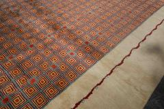 Boccara Boccara Limited Edition Artistic Wool Rug African Ethnic Design - 1041042