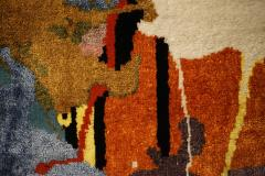 Boccara Boccara Limited Edition Hand Knotted Artistic Rug Street Art  - 1022908