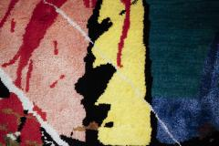 Boccara Boccara Limited Edition Hand Knotted Artistic Rug Street Art  - 1022910