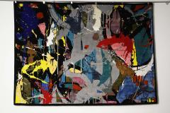 Boccara Boccara Limited Edition Hand Knotted Artistic Rug Street Art  - 1022911
