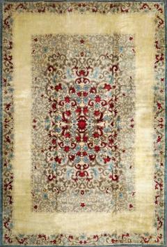 Boccara Original Art Deco Wool Rug Designed by Paule Leleu circa 1940s - 1041087