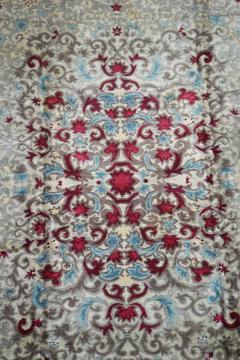 Boccara Original Art Deco Wool Rug Designed by Paule Leleu circa 1940s - 1041089