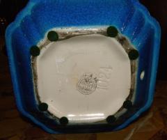 Boch Fr res Keramis Co Art Deco Modernist Vase Shape Boch Freres Catteau - 1482718