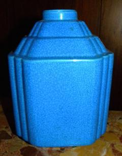 Boch Fr res Keramis Co Art Deco Modernist Vase Shape Boch Freres Catteau - 1482719
