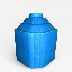 Boch Fr res Keramis Co Art Deco Modernist Vase Shape Boch Freres Catteau - 1484124
