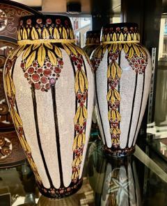 Boch Fr res Keramis Co Boch Catteau Vase - 1482807