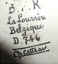 Boch Fr res Keramis Co Boch Catteau Vase - 1482808