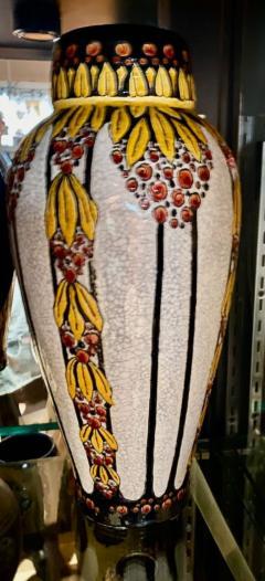 Boch Fr res Keramis Co Boch Catteau Vase - 1482812