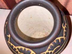 Boch Fr res Keramis Co Boch Freres Charles Catteau Animal Stoneware Primitive Vase Art Deco - 1748906