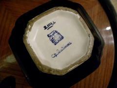 Boch Fr res Keramis Co Charles Catteau La Louviere Hexagon Vase - 1482744