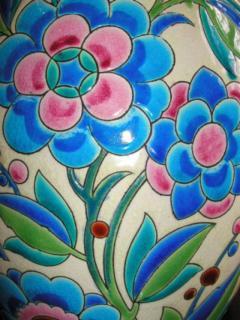 Boch Fr res Keramis Co Keramis Boch Ceramic Vase - 1482771