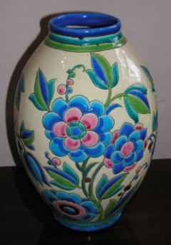 Boch Fr res Keramis Co Keramis Boch Ceramic Vase - 1482775