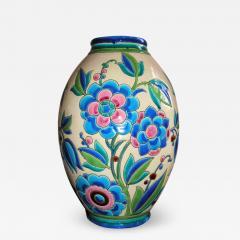 Boch Fr res Keramis Co Keramis Boch Ceramic Vase - 1484131
