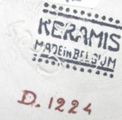 Boch Fr res Keramis Co Keramis Stoneware Vase - 1482827