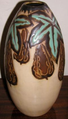 Boch Fr res Keramis Co Keramis Stoneware Vase - 1482828