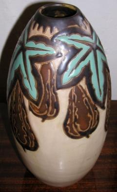 Boch Fr res Keramis Co Keramis Stoneware Vase - 1482829